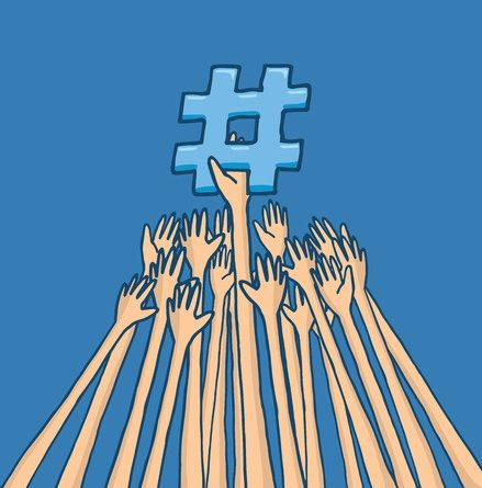 hands-reaching-hashtag