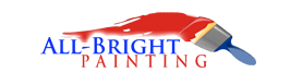 Albright Painting logo for website design