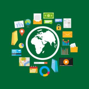 44827910 - flat design illustration concepts for internet content, web content, search engine.